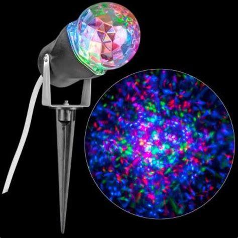 lightshow red green blue projection kaleidoscope spotlight