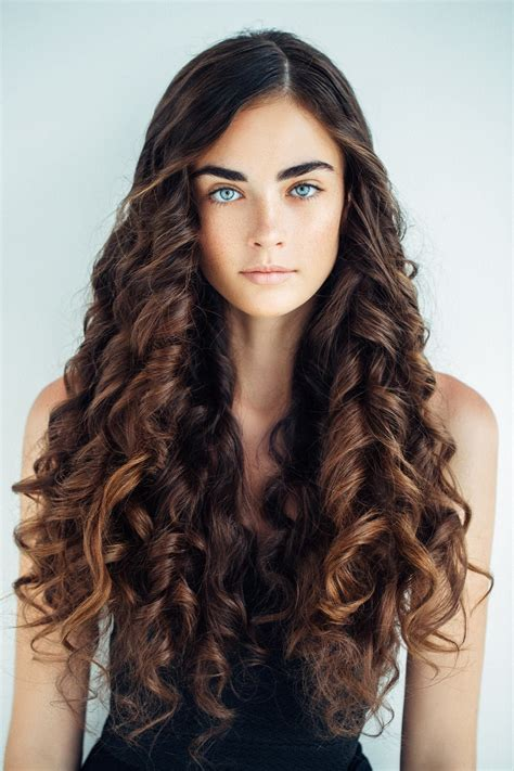 hairstyles tight curls curly hairstyles for long hair 19 kinds of curls to consider