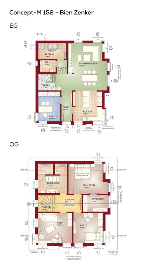Haus Ohne Keller Grundriss by Grundriss Einfamilienhaus Modern Mit Satteldach