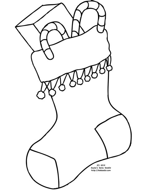 pin stocking coloring page from partyoptions party