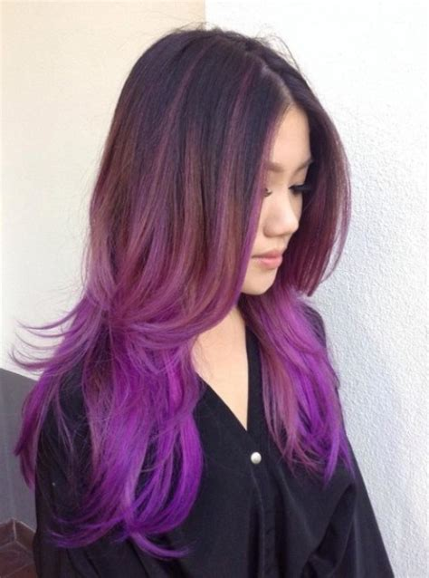 purple shoo for purple highlights image gallery purple ombre