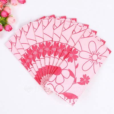flower pattern napkins flower pattern dinner napkins set of 50 122039537