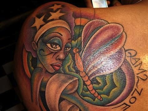 watercolor tattoo on black skin color tattoos on skin black you been