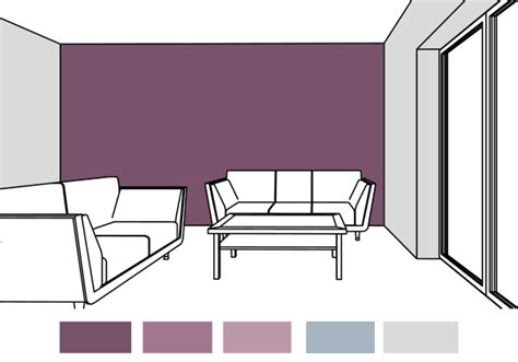 Next Mauve Curtains by Would Violet Be A Good Paint Color Choice For The Living