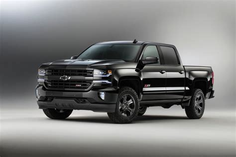 chevrolet silverado truck 2016 chevy silverado rally edition revealed gm authority