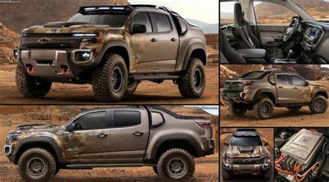 2017 Chevy Colorado ZH2 First Hidrogen Military PickUp Truck 2018 2019 New Best Trucks