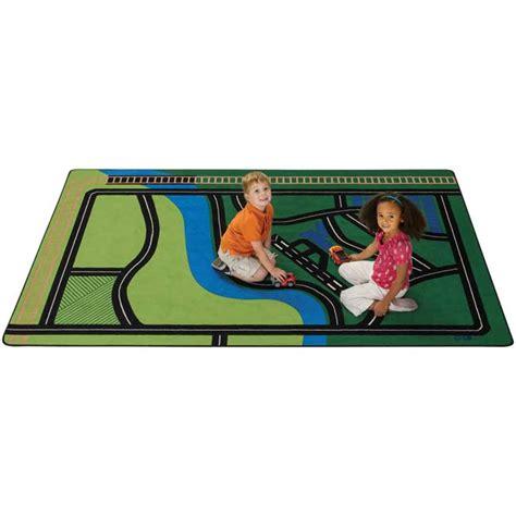 fun carpets carpets for kids 6900 transportation fun rug 6 x 9