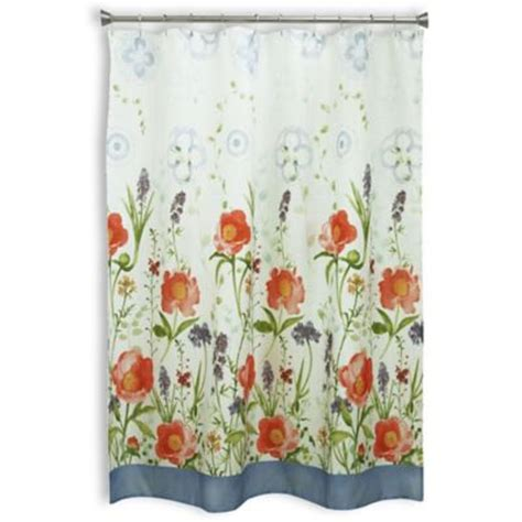 orange poppy curtains buy coral curtains from bed bath beyond