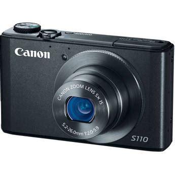 canon powershot s110 digital camera (black) 6351b001 b&h photo