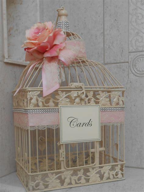 Wedding Birdcage Card Box