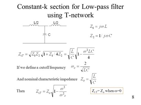 section pass microwave filter design ppt download