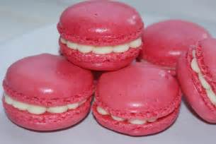 raspberry chocolate french macaroons recipe dishmaps