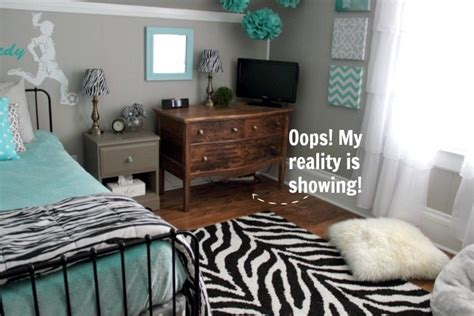 clean teenage bedroom turquoise and grey tween bedroom a before and after