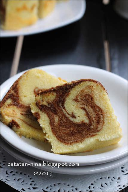 Loyang Marmer Cake 22 marmer cake jadul catatan