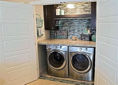 home laundry how to find space for a home laundry area