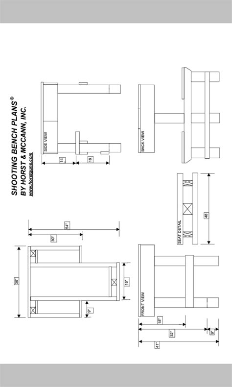 shooting bench dimensions shooting bench plans mississippi gun owners community for mississippi guns and laws