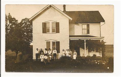 antique farmhouse early 1900s vintage farmhouse pioneer family photo