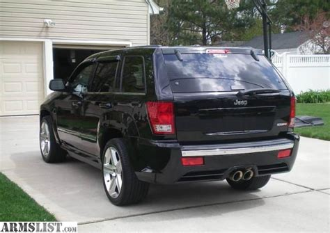 totaled jeep grand cherokee armslist for sale 2007 jeep grand cherokee srt8