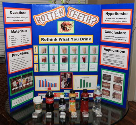 Lava L Science Fair Project by Science Fair Project Quot Rotten Teeth Rethink What You
