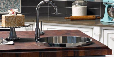 butcher block bathroom sink options grothouse