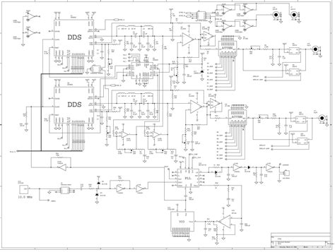 frequency synthesizer circuit diagram frequency synthesizer circuit diagram circuit and
