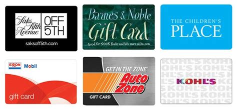Can You Use A Saks Gift Card At Off Fifth - up to 15 off childrens place saks exxon more gift cards kollel budget