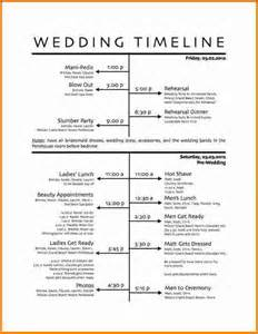 wedding day timeline template search results for itinerary exles calendar 2015