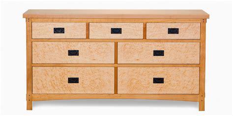 arts crafts 7 drawer dresser berkeley mills