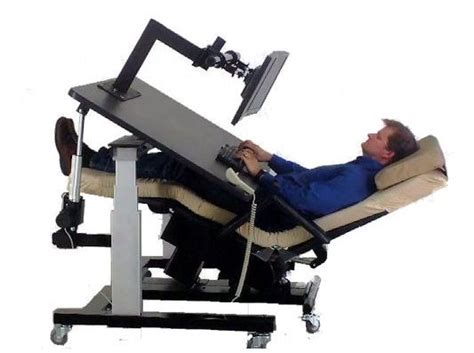 reclined workstation ergoquest zero gravity chairs and workstations