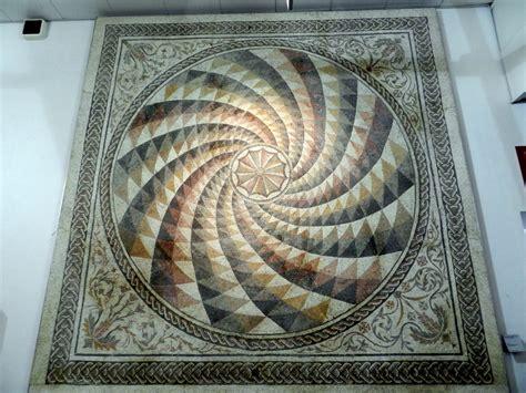 mosaic pattern spiral snap finding similarities between ancient mosaics