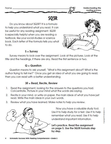 Reading Worksheets Grade 3 by Comprehension Worksheets For Grade 1 New Calendar