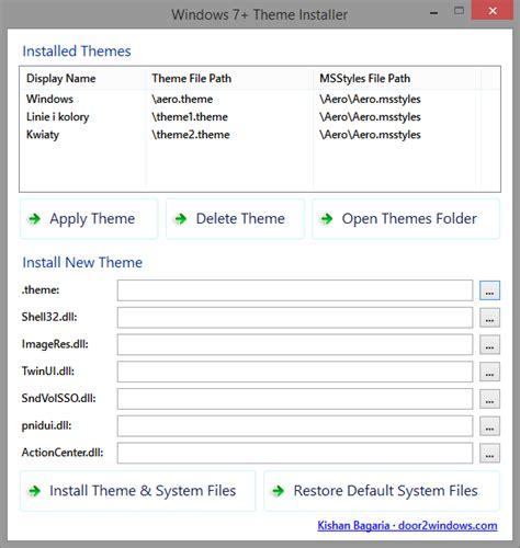 download theme windows 7 installer opinie i recenzje o windows 7 theme installer zalety i wady