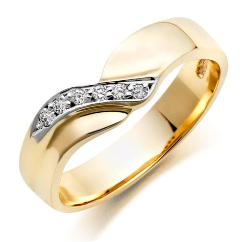 Wedding Ring by 9ct Gold Wedding Ring 0004983 Beaverbrooks The