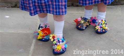 diy flower shoes diy flower shoes zingzingtree