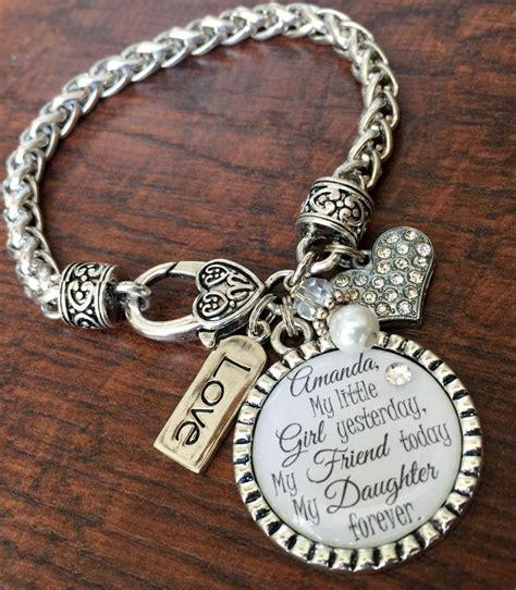 I'll love you forever, Mother daughter bracelet, mother