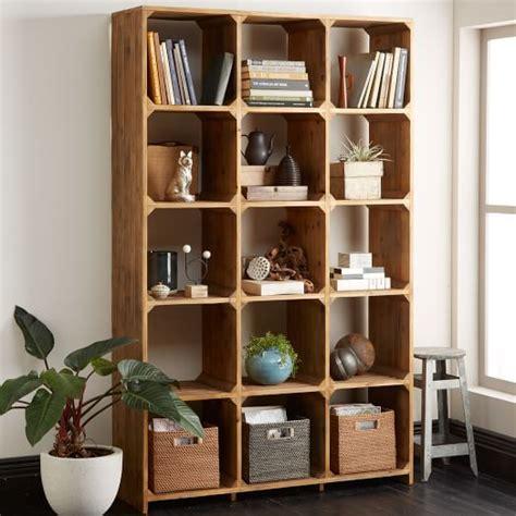 west elm bookshelves bleached pine bookcase west elm