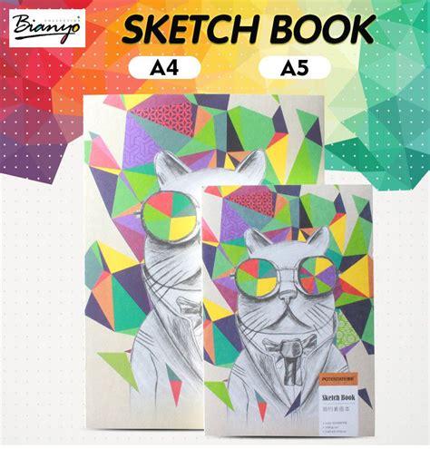 sketchbook potentate sổ vẽ sketch book a5 potentate 100gsm g 225 y may chỉ 120 tờ