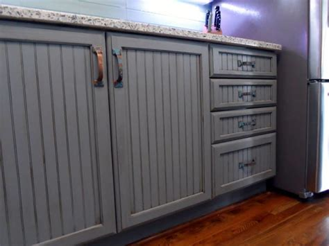 grey kitchen cabinets with blue walls quicua