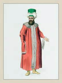 Ottoman Empire Fashion Ottoman In A Fur Coat Ottoman Empire Historical Clothing The Costume Of Turkey Ottoman