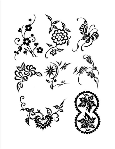 printable henna stencils free free henna design page henna blog spot
