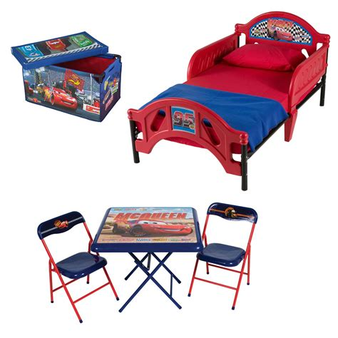 toddler room in a box delta children disney pixar cars room in a box with toddler bed
