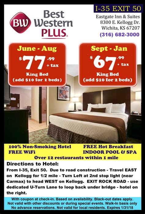 best western coupon best western plus coupon wichita kansas midwest hotel