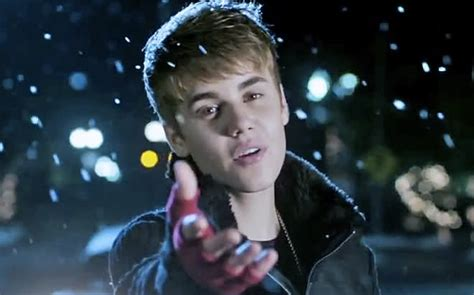 mistletoe justin bieber justin bieber takes us quot under the mistletoe quot metrolyrics
