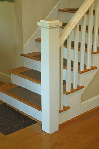 anchoring  newel post woodworking blog