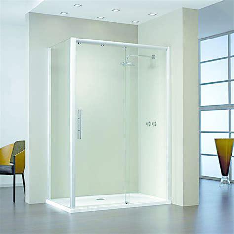 cabine de avec receveur plat cabines de avec portes coulissantes suspendues en verre tremp 233 hsk