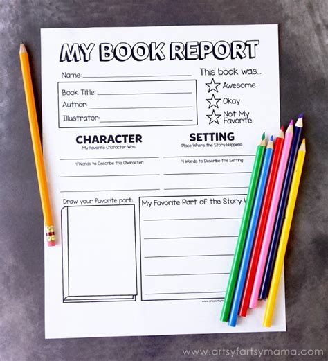 2nd Grade Book Report Forms by Best 25 Book Report Projects Ideas On Book