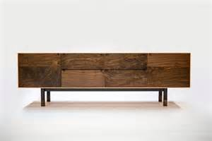 modern furniture chic solid walnut coastal credenza by jeff martin digsdigs