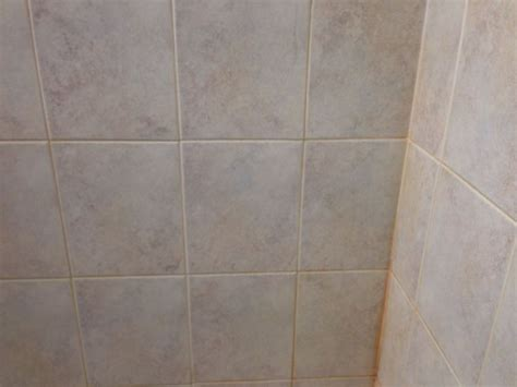 hard water stains on bathroom tiles hard water build up on shower tile and grout www