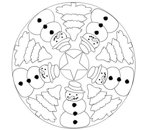 imagenes de mandalas navide as para pintar mandalas de navidad para pintar colorear im 225 genes