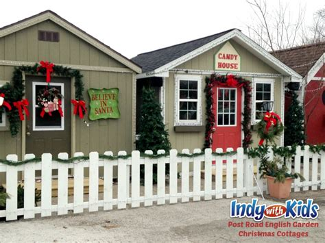 The Cottages Indianapolis by Cottages Visit Santa On Post Road Indy With